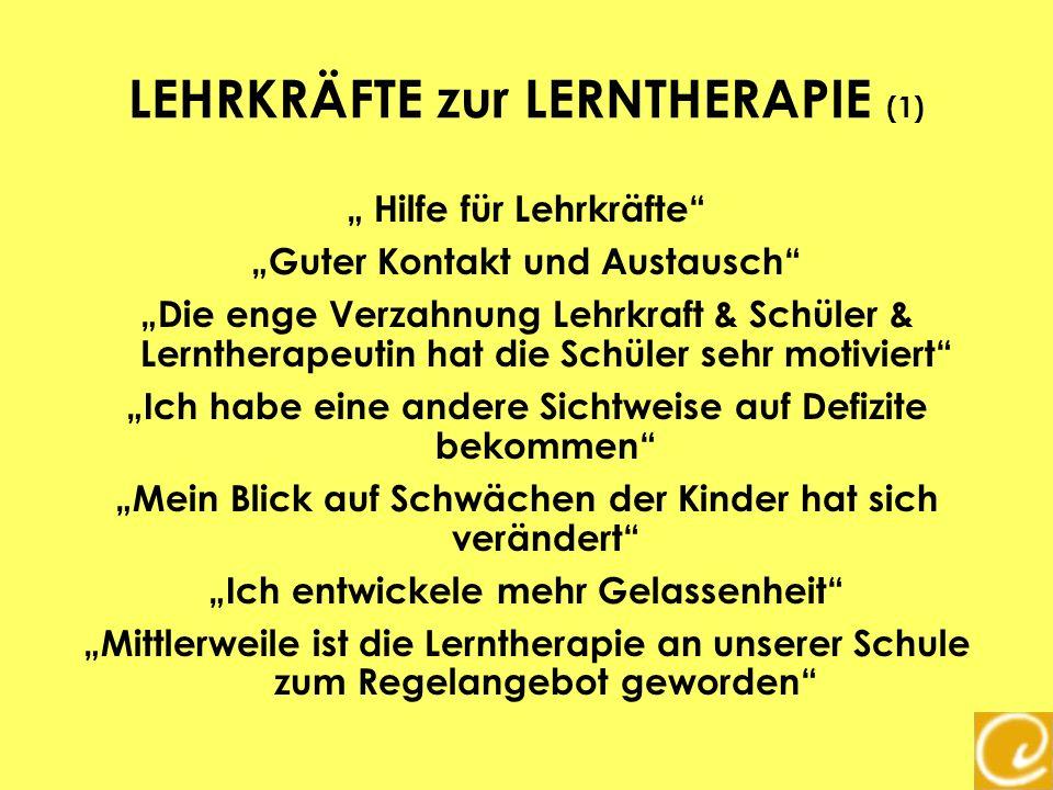 LEHRKRÄFTE zur LERNTHERAPIE (1)