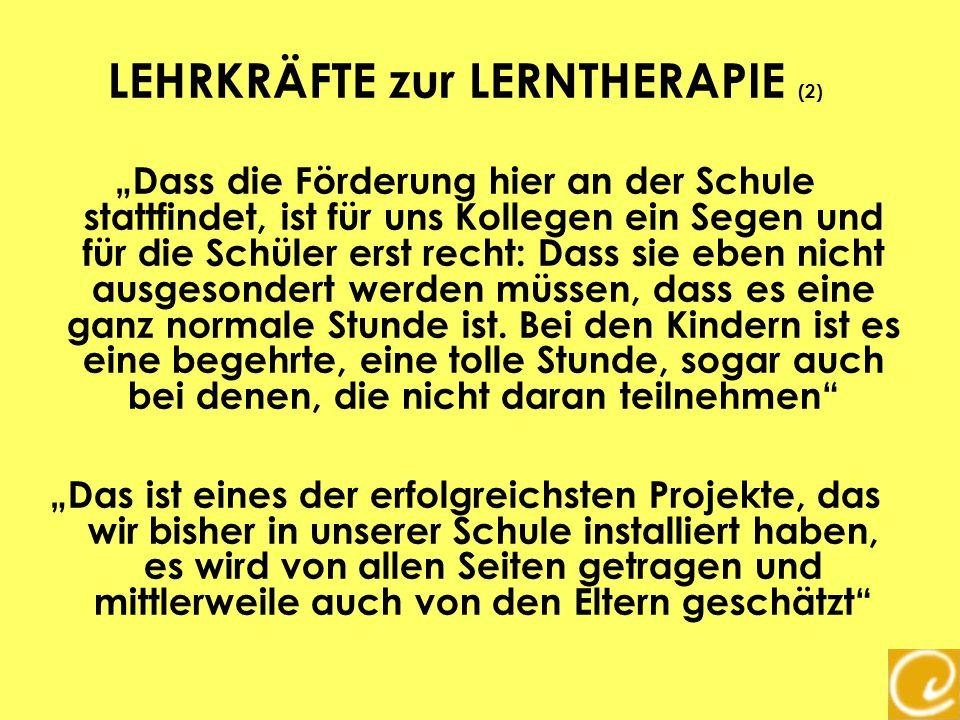 LEHRKRÄFTE zur LERNTHERAPIE (2)