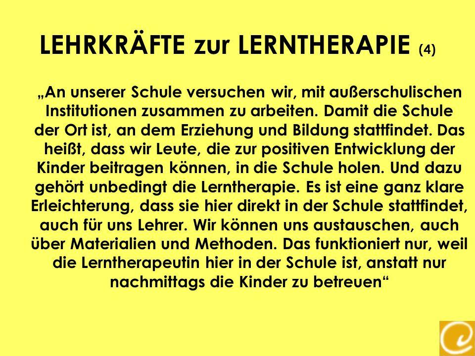 LEHRKRÄFTE zur LERNTHERAPIE (4)