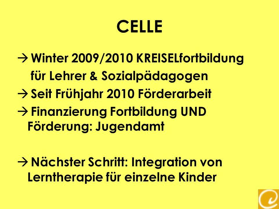 CELLE Winter 2009/2010 KREISELfortbildung für Lehrer & Sozialpädagogen