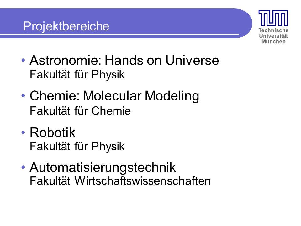 Astronomie: Hands on Universe Fakultät für Physik