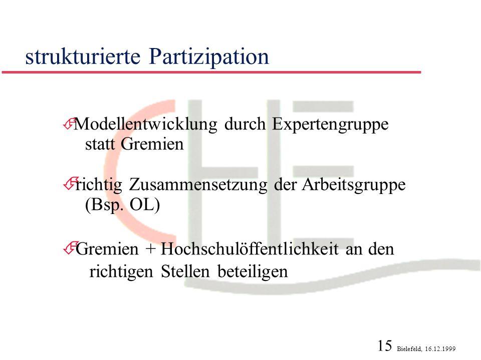 strukturierte Partizipation