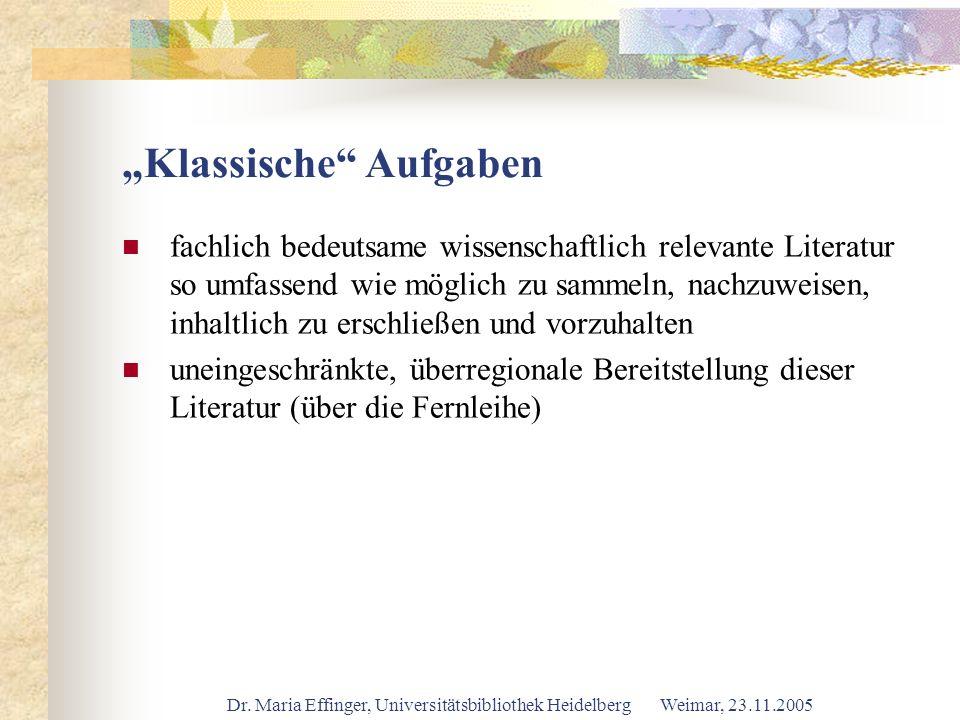 """""""Klassische Aufgaben"""