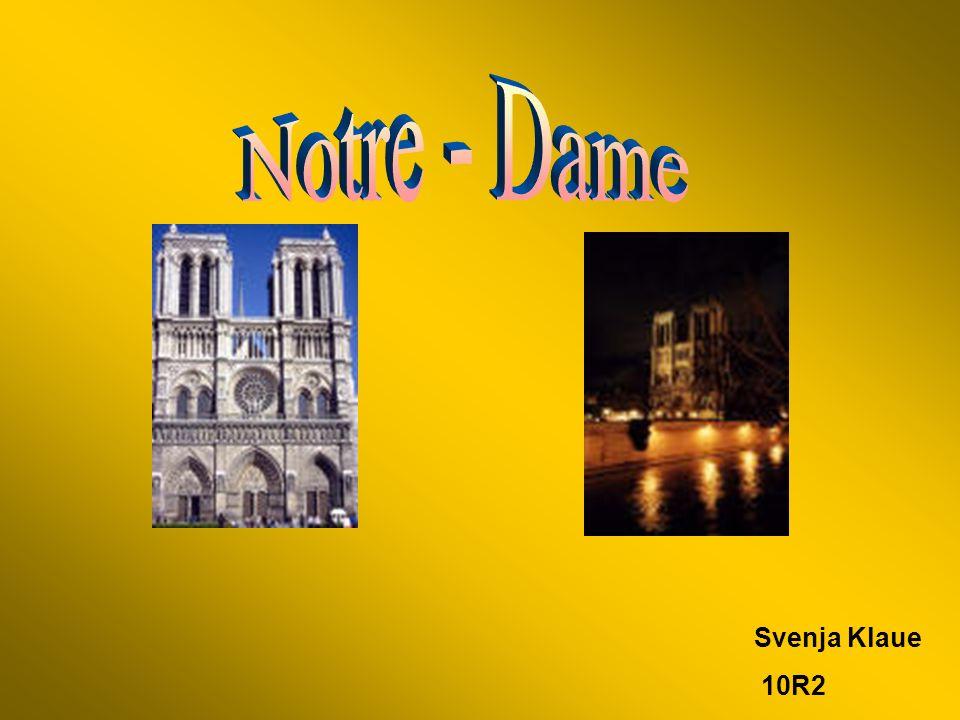 Notre - Dame Svenja Klaue 10R2