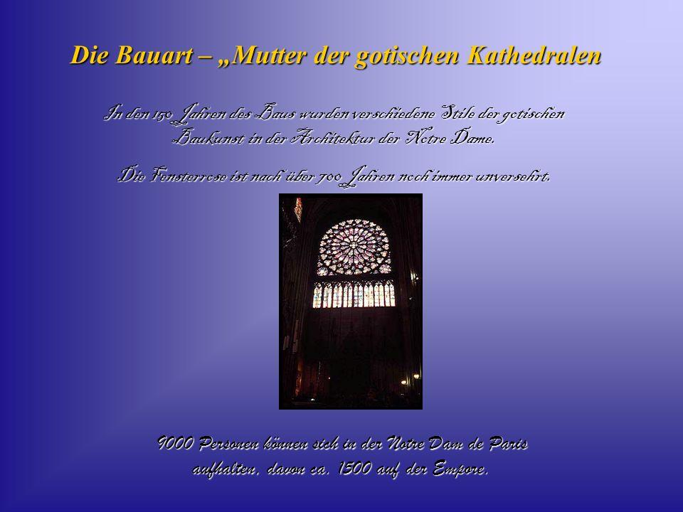 """Die Bauart – """"Mutter der gotischen Kathedralen"""
