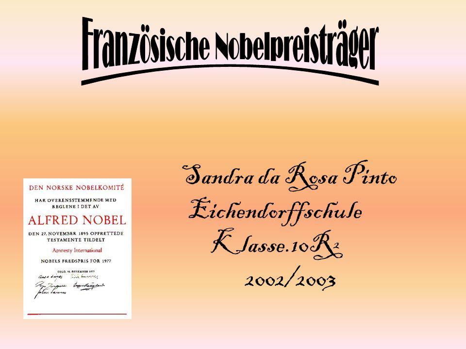 Sandra da Rosa Pinto Eichendorffschule Klasse.10R²