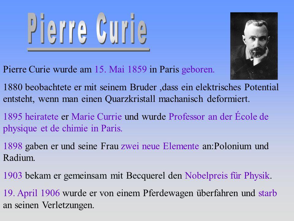 pierre curie nobelpreis