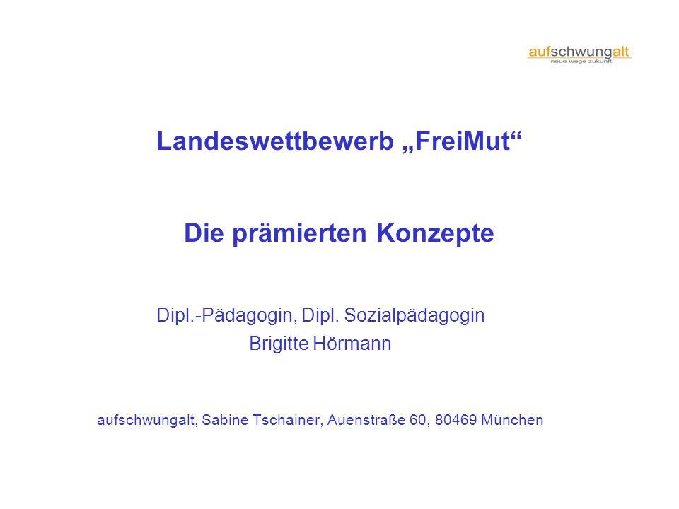 """Landeswettbewerb """"FreiMut"""