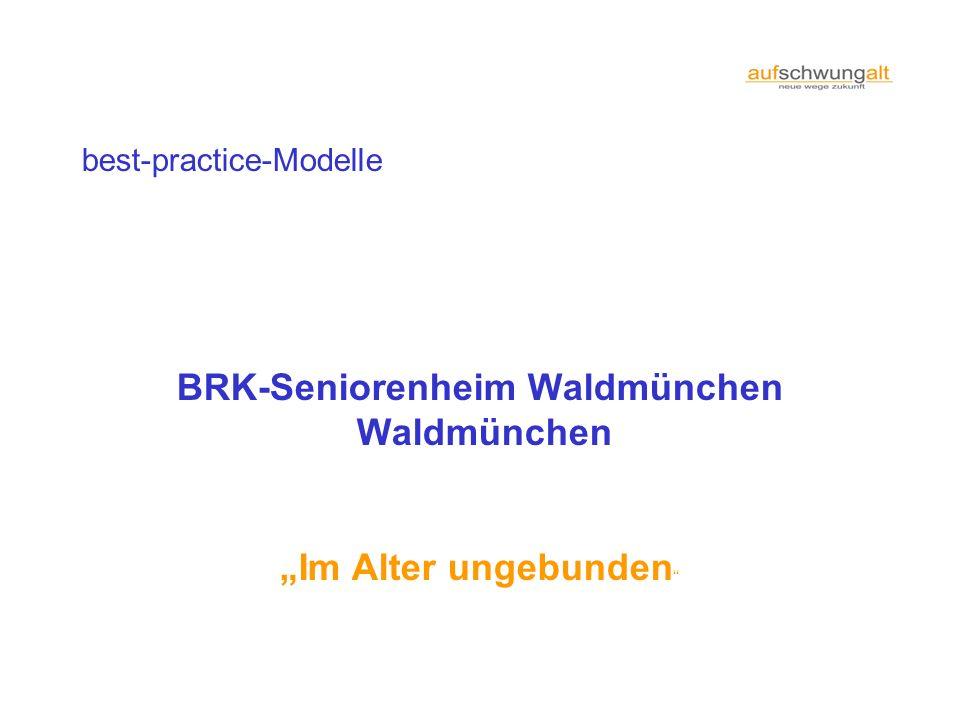 BRK-Seniorenheim Waldmünchen
