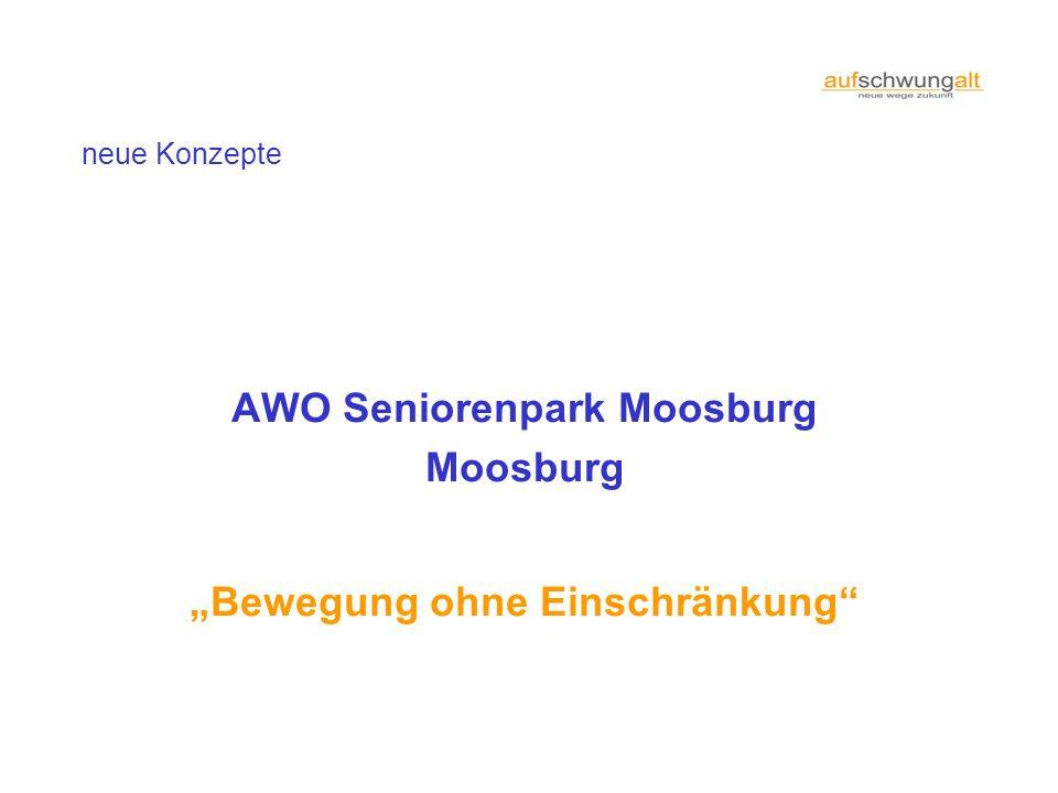 AWO Seniorenpark Moosburg