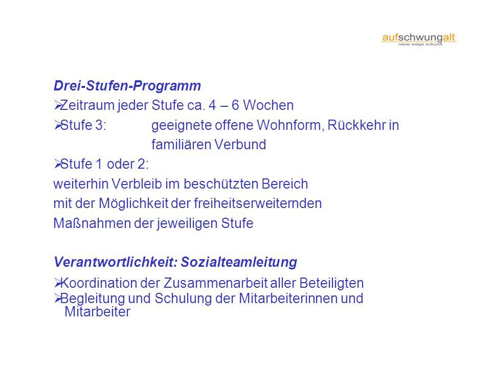 Drei-Stufen-Programm