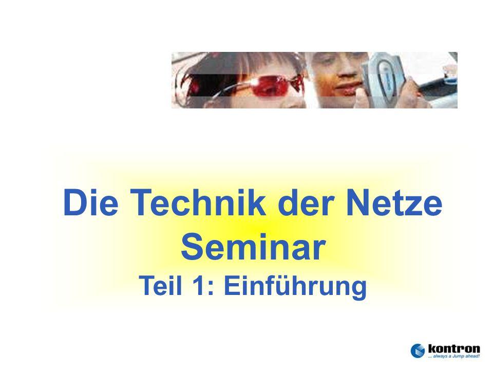 Die Technik der Netze Seminar