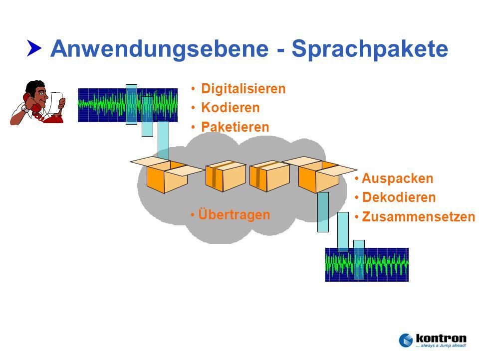 Anwendungsebene - Sprachpakete