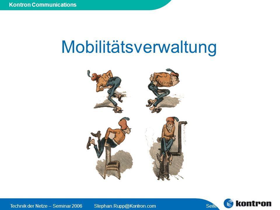 Mobilitätsverwaltung