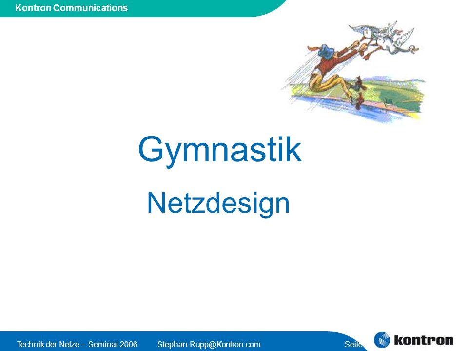 Gymnastik Netzdesign