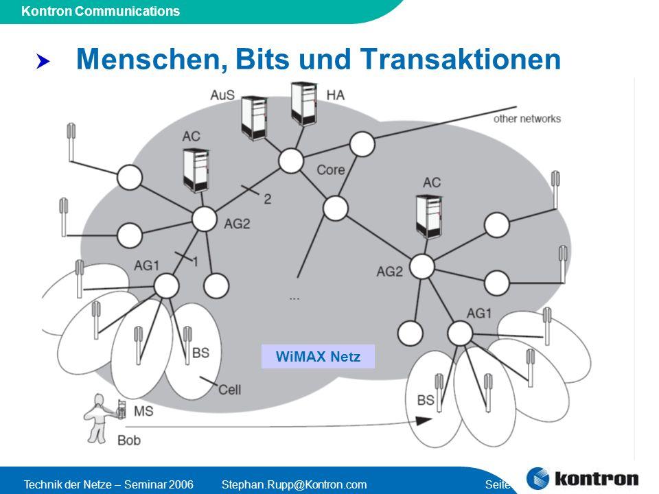 Menschen, Bits und Transaktionen