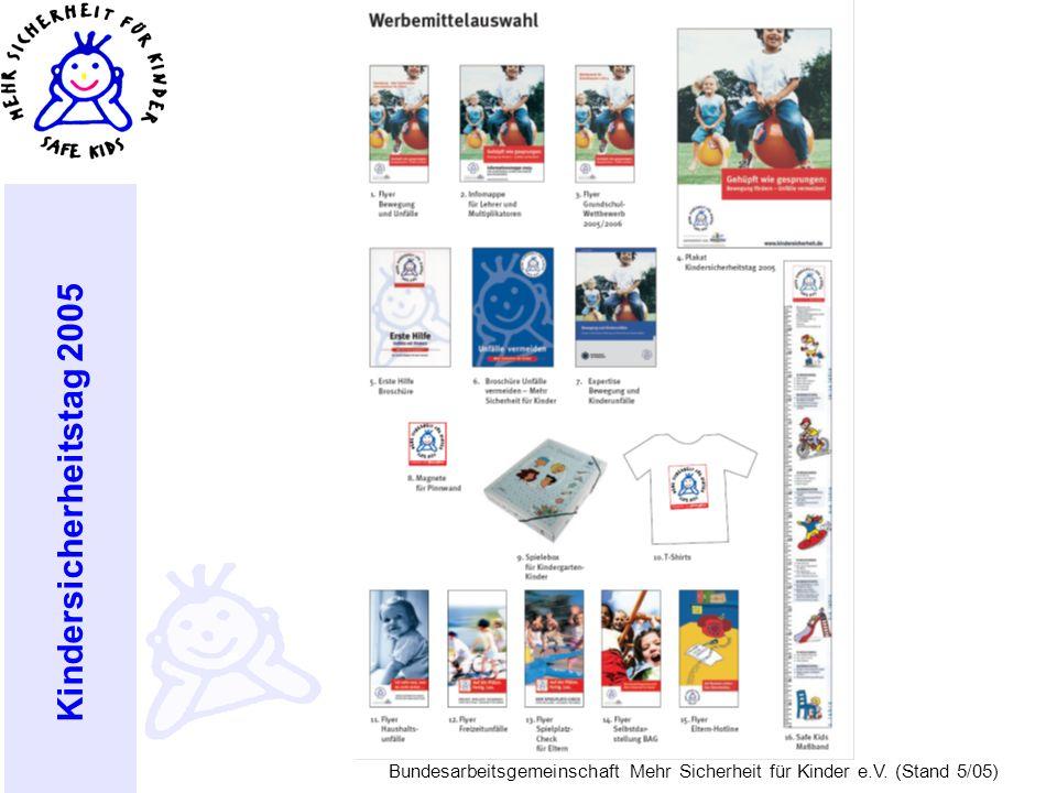 Planungen zum Kindersicherheitstag 2005