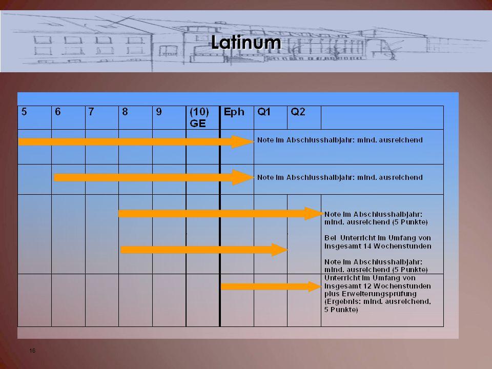 Latinum 16
