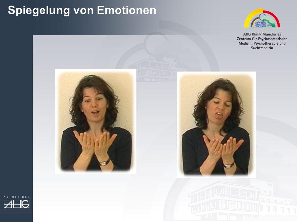 Spiegelung von Emotionen