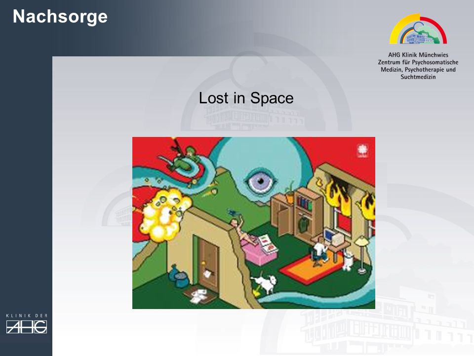 Nachsorge Lost in Space