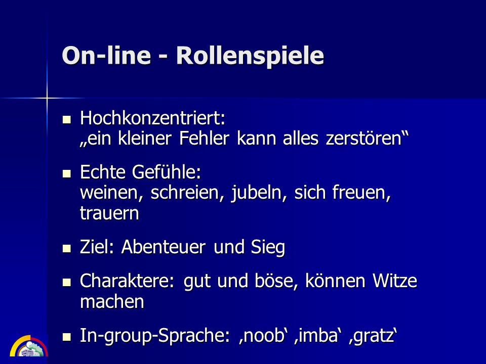 On-line - Rollenspiele