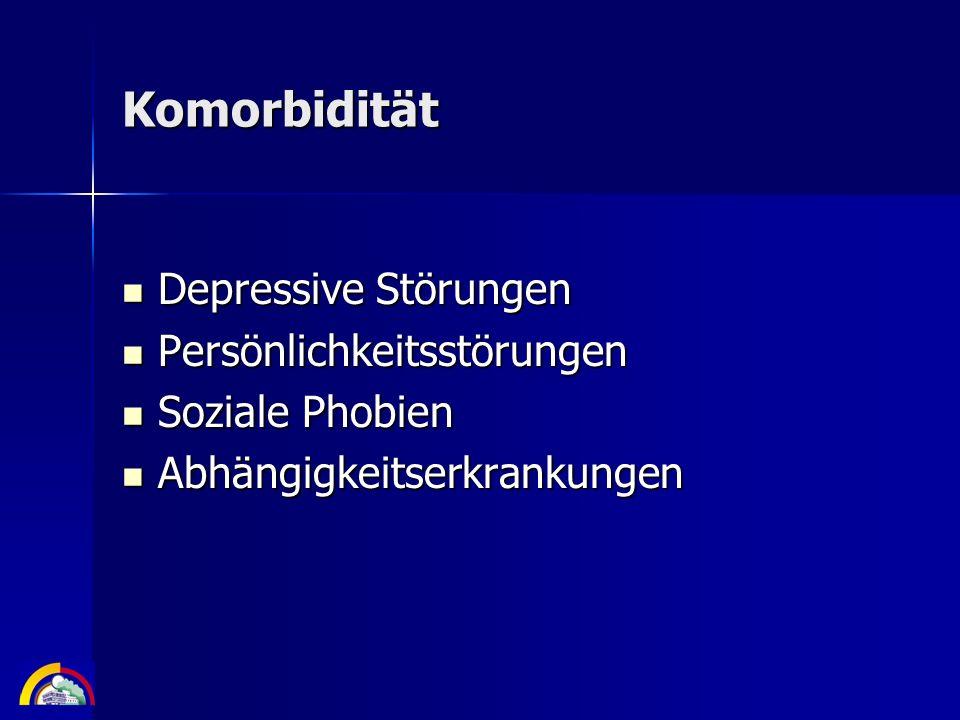 Komorbidität Depressive Störungen Persönlichkeitsstörungen