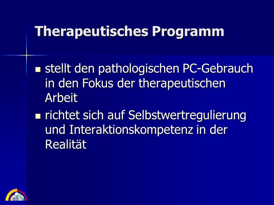 Therapeutisches Programm