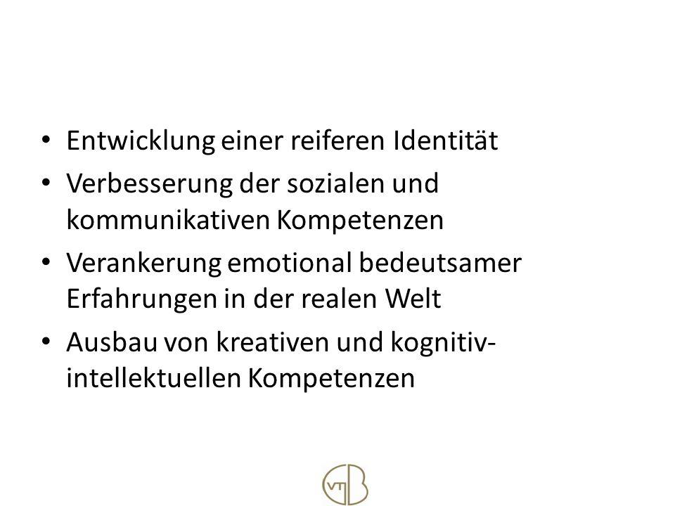 Entwicklung einer reiferen Identität
