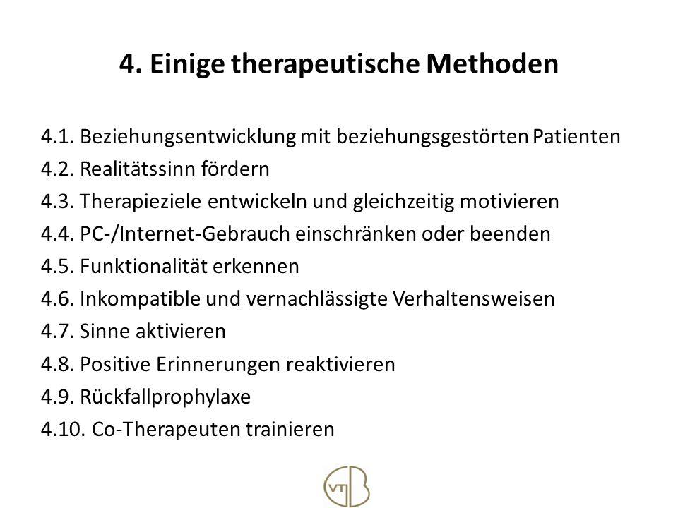 4. Einige therapeutische Methoden