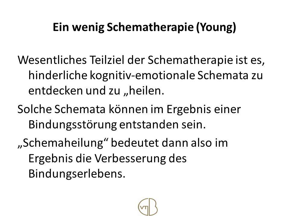 Ein wenig Schematherapie (Young)