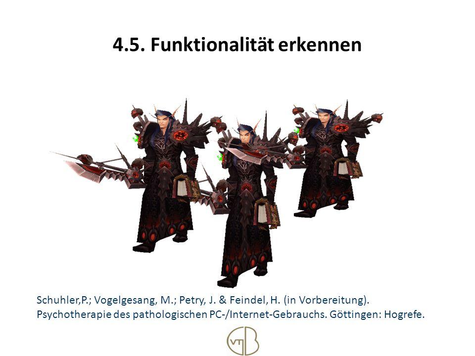 4.5. Funktionalität erkennen