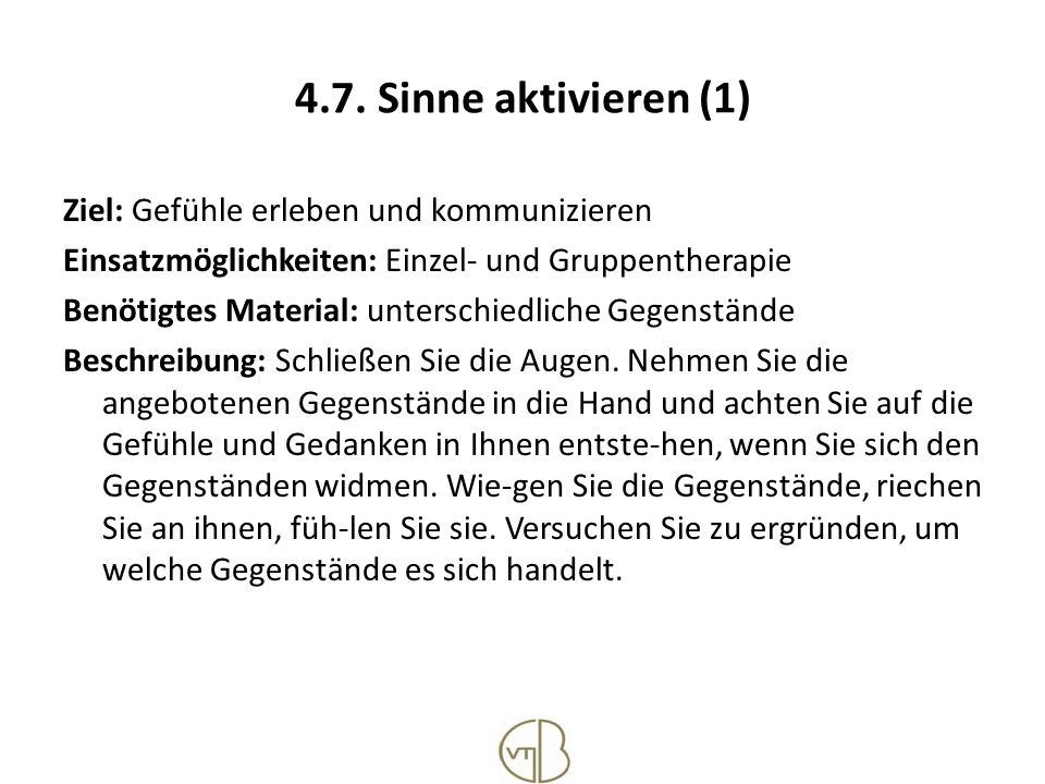 4.7. Sinne aktivieren (1)