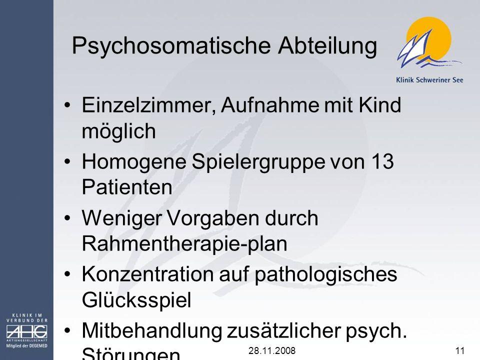 Psychosomatische Abteilung