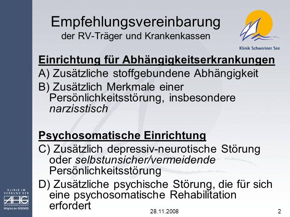 Empfehlungsvereinbarung der RV-Träger und Krankenkassen
