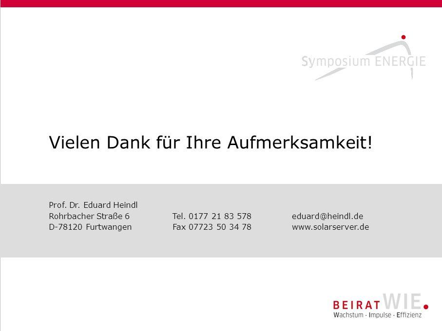 Prof. Dr. Eduard Heindl Rohrbacher Straße 6 Tel.