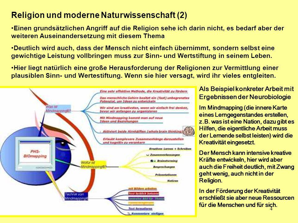 Religion und moderne Naturwissenschaft (2)