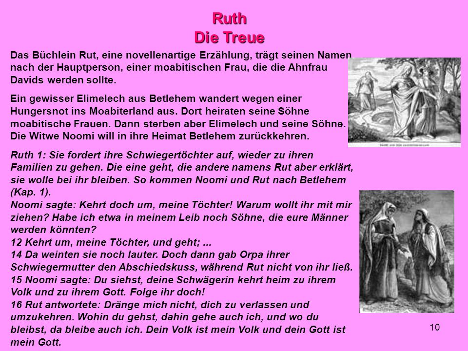 Ruth Die Treue