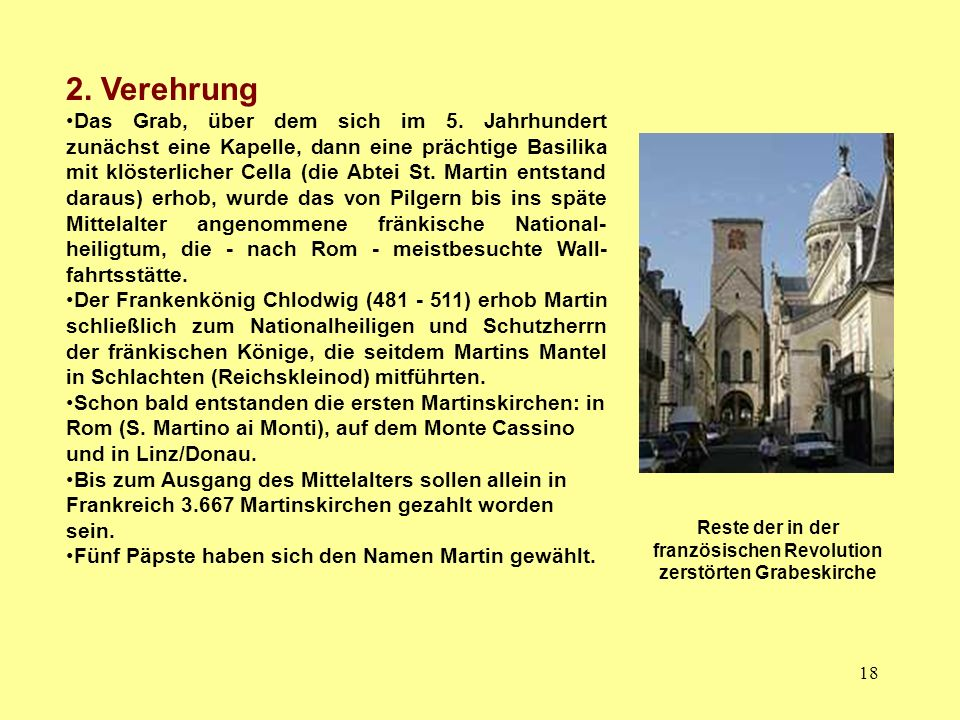 Reste der in der französischen Revolution zerstörten Grabeskirche