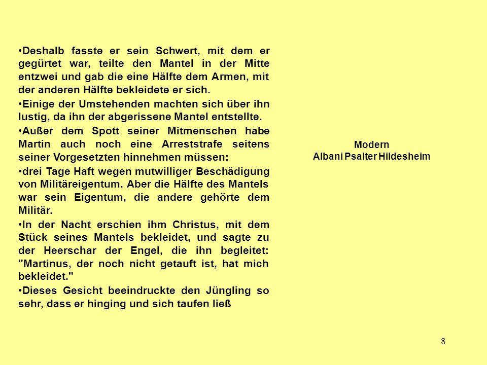 Modern Albani Psalter Hildesheim
