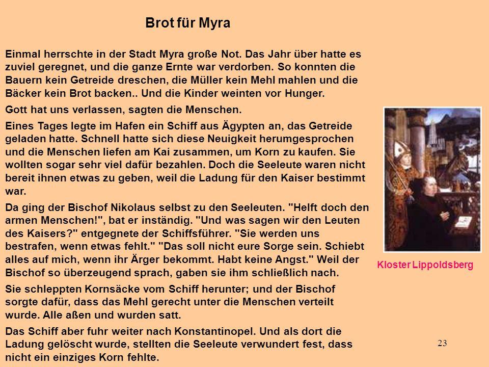 Brot für Myra