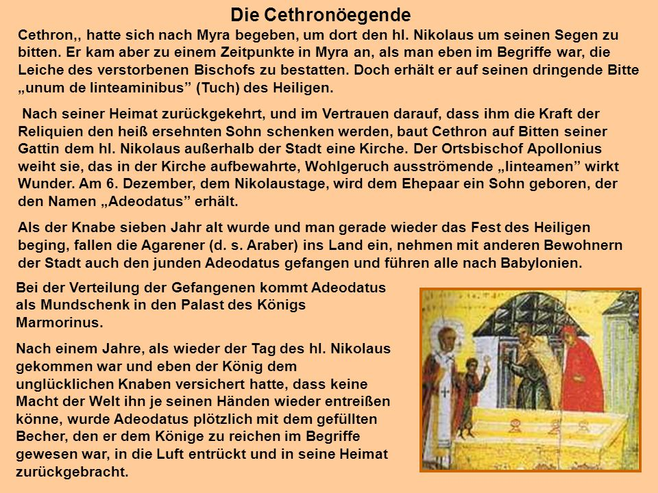 Die Cethronöegende