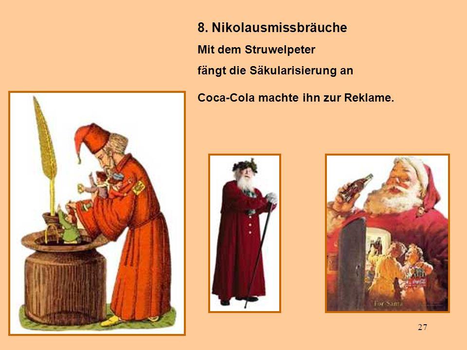 8. Nikolausmissbräuche Mit dem Struwelpeter