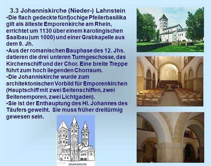 3.3 Johanniskirche (Nieder-) Lahnstein