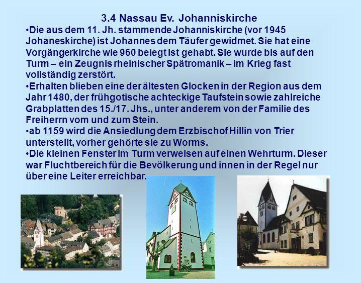 3.4 Nassau Ev. Johanniskirche