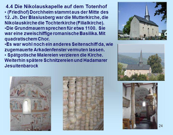 4.4 Die Nikolauskapelle auf dem Totenhof