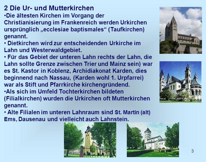 2 Die Ur- und Mutterkirchen