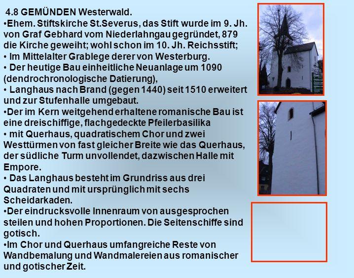 Im Mittelalter Grablege derer von Westerburg.