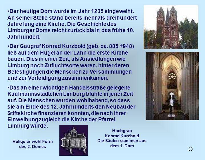 Der heutige Dom wurde im Jahr 1235 eingeweiht