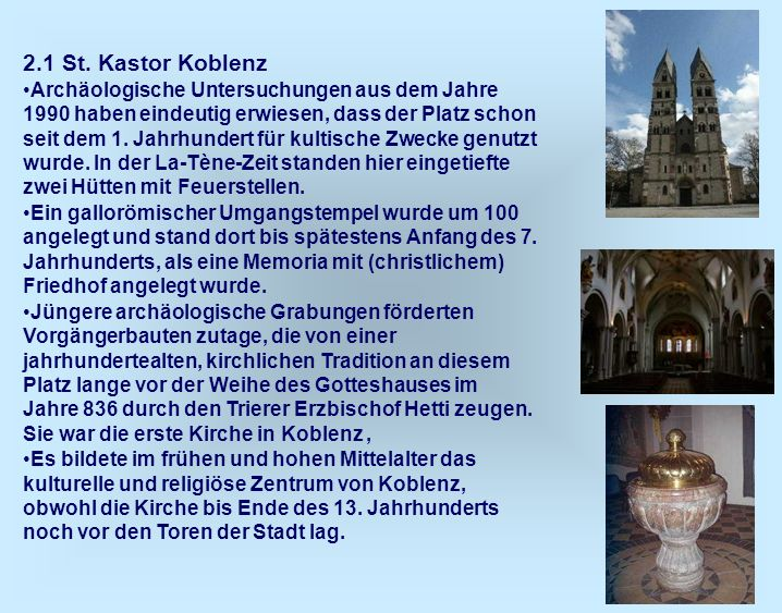 2.1 St. Kastor Koblenz