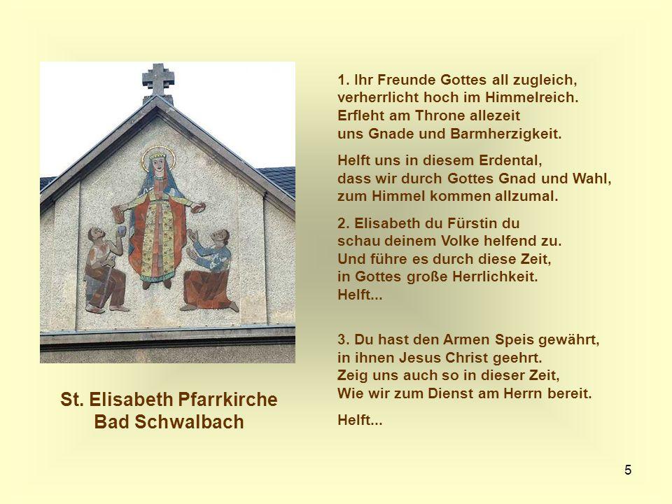 St. Elisabeth Pfarrkirche Bad Schwalbach